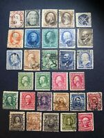 US STAMPS 19TH CENTURY USED/MINT BANKNOTES WASHINGTON FRANKL