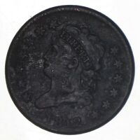 1812 CLASSIC HEAD LARGE CENT - SMALL DATE 8171