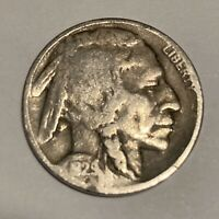 1929-D BUFFALO NICKEL DENVER MINT - EXACT COIN PICTURED - SHIPS FREE LT13