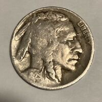 1929-D BUFFALO NICKEL DENVER MINT - EXACT COIN PICTURED - SHIPS FREE LT11