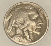 1929-D BUFFALO NICKEL DENVER MINT - EXACT COIN PICTURED - SHIPS FREE LT9