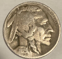 1929-D BUFFALO NICKEL DENVER MINT - EXACT COIN PICTURED - SHIPS FREE LT3