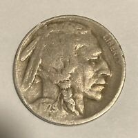 1929-D BUFFALO NICKEL DENVER MINT - EXACT COIN PICTURED - SHIPS FREE LT2
