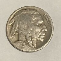 1929-D BUFFALO NICKEL DENVER MINT - EXACT COIN PICTURED - SHIPS FREE LT1