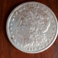 1889 UNITED STATES MORGAN $1 DOLLAR COIN IN EXCELLENT CONDITION