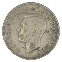 SILVER   WORLD COIN   1942 GREAT BRITAIN 2 SHILLINGS   WORLD