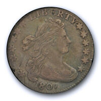 1807 10C DRAPED BUST DIME ICG VF 30  FINE TO EXTRA FINE TOUGH COIN