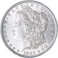 1882 MORGAN SILVER DOLLAR ABOUT UNCIRCULATED AU SEE PICS K847