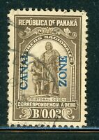 CANAL ZONE USED POSTAGE DUE SELECTIONS: SCOTT J5 2C OLIVE BR