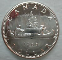 1966 CANADA VOYAGEUR SILVER DOLLAR PROOF LIKE COIN