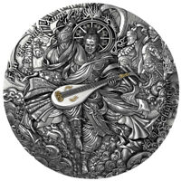 CHIGUOTIAN FOUR HEAVENLY KINGS 2 OZ HIGH RELIEF SILVER COIN
