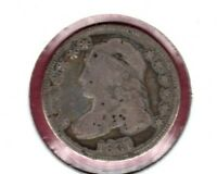 1831 CAPPED BUST SILVER DIME GRADES GOOD  C6032