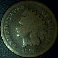 1878 INDIAN HEAD CENT - GOOD - SHIPS FREE