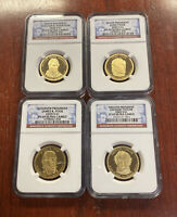2009 S $1 PRESIDENTIAL DOLLAR PROOF SET NGC PF69 ULTRA CAMEO
