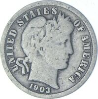 BETTER 1903   US BARBER LIBERTY SILVER DIME COIN COLLECTION
