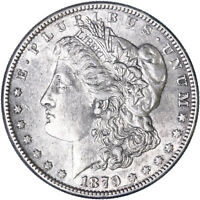 1879 O MORGAN SILVER DOLLAR ABOUT UNCIRCULATED AU SEE PICS L505