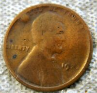 1922 LINCOLN WHEAT PENNY   NO D; 1922 LINCOLN WHEAT PENNY PL