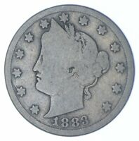 BETTER   1883 LIBERTY V NICKEL   WITH CENTS   TC  195