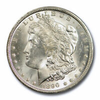 1890 O $1 MORGAN DOLLAR PCGS MINT STATE 64 UNCIRCULATED NEW ORLEANS MINT CERT5519