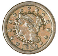 1850 LARGE CENT COUNTERSTAMP