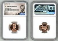 1994 S LINCOLN CENT 1C NGC PF 70 RD ULTRA CAMEO   D3