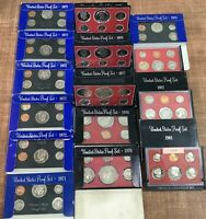 COIN PROOF SETS LOT