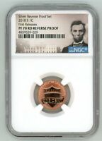 2018 S LINCOLN CENT 1C REVERSE PROOF NGC PF 70 RD FIRST RELE