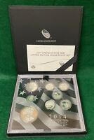 2014 UNITED STATES MINT LIMITED EDITION SILVER PROOF SET WIT