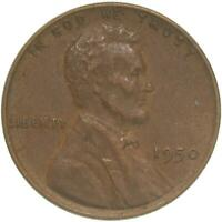 1950 LINCOLN WHEAT CENT EXTRA FINE PENNY EXTRA FINE