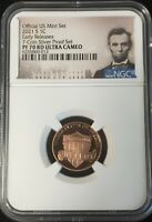 2021 S NGC PF70 UCAM LINCOLN CENT PROOF SPS EARLY RELEASES M