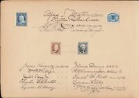 3P4 4P4 LO1P4 LO2P4 SIGNED FROM ABNCO BUREAU ENGR & PRINTING NAT'L CO WL3360