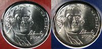 2014 D & P BU JEFFERSON NICKEL 2 COIN SET FROM MINT UNCIRCULATED COIN SETS