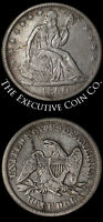 1850 O SEATED HALF DOLLAR NICE XF GREAT EYE APPEAL NICE STRIKE TOUGH TO FIND