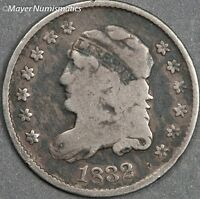 1832 CAPPED BUST HALF DIME 4279.D0014 LM 7 R 2  VF  FINE