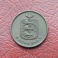 GUERNSEY 1830 COPPER DOUBLE