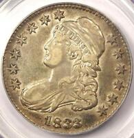 1833 CAPPED BUST HALF DOLLAR 50C O 103   PCGS XF40 EF40    CERTIFIED COIN