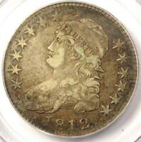 1812 CAPPED BUST HALF DOLLAR 50C O 104   PCGS VF35 PQ    EARLY DATE COIN!