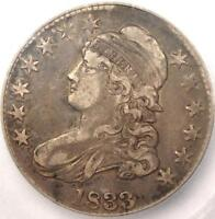 1833 CAPPED BUST HALF DOLLAR 50C   ICG XF40 EF40 PQ    CERTIFIED COIN