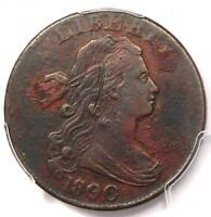 1800/79 DRAPED BUST LARGE CENT 1C   PCGS VF DETAILS    EARLY OVERDATE COIN