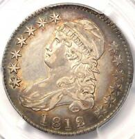 1812 CAPPED BUST HALF DOLLAR 50C   PCGS XF45 EF45    CERTIFIED COIN
