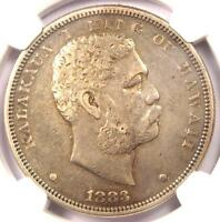 1883 HAWAII DOLLAR $1   NGC VF35    CERTIFIED SILVER COIN   $660 VALUE