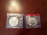 1981 P & D WASHINGTON QUARTERS EACH IN ORIGINAL MINT CELLO