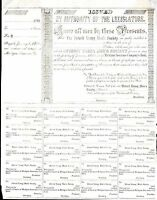 DETROIT YOUNG MENS SOCIETY 1849 UNISSUED BOND CERTIFICATE