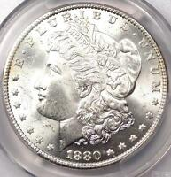 1880 MORGAN SILVER DOLLAR $1   PCGS MS65    1880 P DATE IN MS65   $900 VALUE