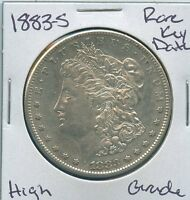 1883 S MORGAN DOLLAR  KEY DATE US MINT SILVER COIN HIGH GRADE