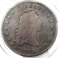 1795 FLOWING HAIR SILVER DOLLAR $1 COIN BB 13 B9   CERTIFIED PCGS VG DETAILS