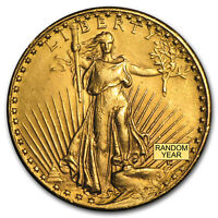 $20 SAINT GAUDENS GOLD DOUBLE EAGLE  CLEANED    SKU 9120