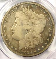 1893-O MORGAN SILVER DOLLAR $1 - PCGS VG10 -  CERTIFIED KEY DATE COIN