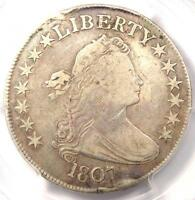1807 DRAPED BUST HALF DOLLAR 50C O-105 - PCGS FINE DETAILS -  CERTIFIED COIN