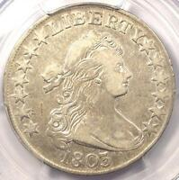 1803 DRAPED BUST HALF DOLLAR 50C  - PCGS VF DETAILS -  COIN - NEAR EXTRA FINE
